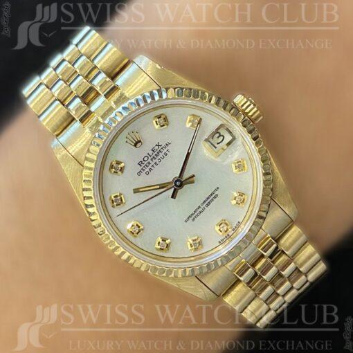 Rolex Datejust 68278