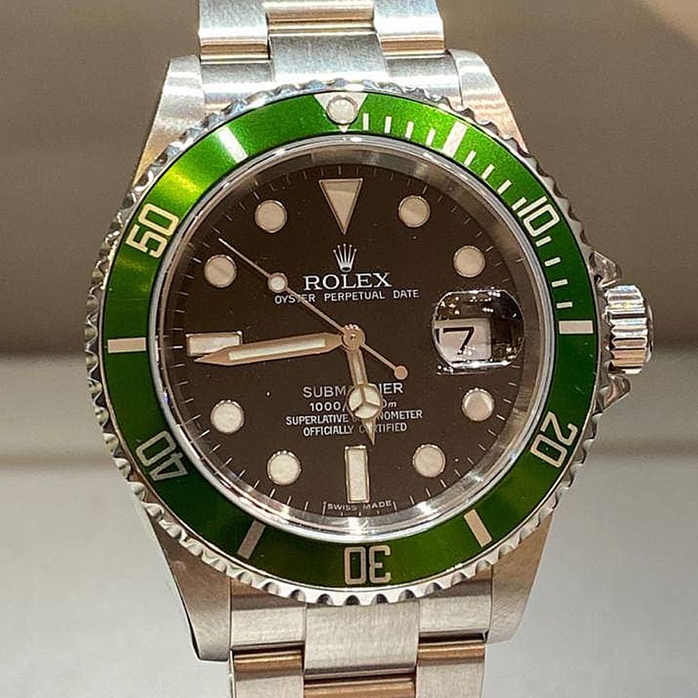 green submariner anniversary